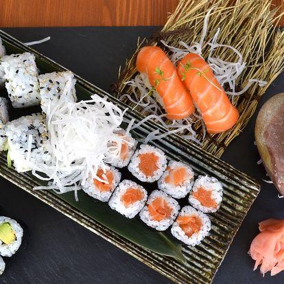 Sushi sety s 24, 26 i 44 ks s lososem i tuňákem