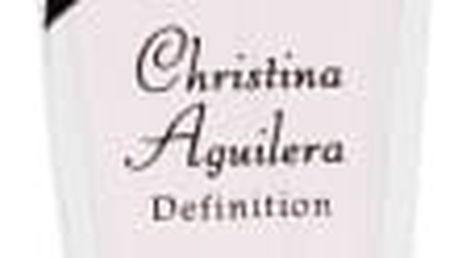 Christina Aguilera Definition dárková kazeta pro ženy parfémovaná voda 30 ml + oční linky 1 ml