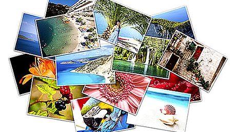 Vyvolání fotografií 100 ks nebo 200 ks na kvalitním fotopapíru Fuji CA.