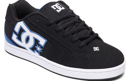 Boty DC Net black-black-blue 40,5