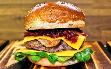 Permanentka na burgerové menu v Burgrárně