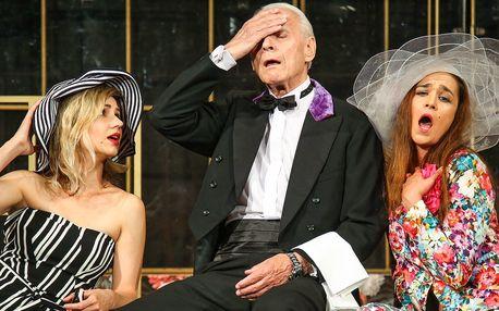 2 vstupenky do Divadla Radka Brzobohatého