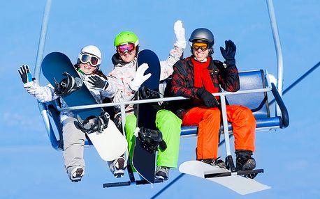 Lednové lyžování v Harrachově se slevou na 3 noci s polopenzí s bazénem