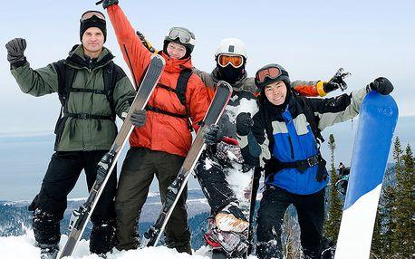Lednové lyžování v Harrachově se slevou na 5 nocí s polopenzí s bazénem