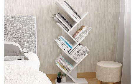 BAAKI 2 knihovna, bílá