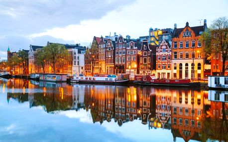 Jarní zájezd pro 1 osobu za tulipány do Holandska na 1 den. Keukenhof, Amsterdam, větrné mlýny aj.