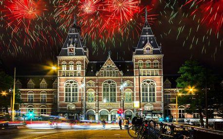 Festival světel a silvestr v Amsterdamu na otočku