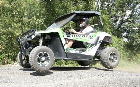 Adrenalinová jízda v buggy: 15 či 30 minut akce