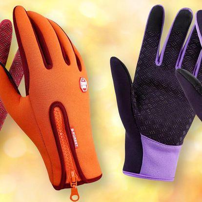Termo rukavice zateplené fleecem