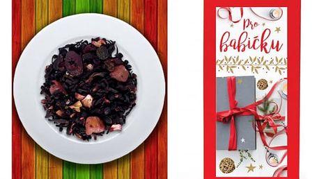 Vánoční sypaný čaj s věnováním