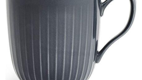 KÄHLER Keramický hrnek Hammershøi Antracit, šedá barva, keramika