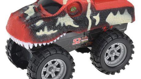 Monster truck Dinosaurus červená, 26 cm