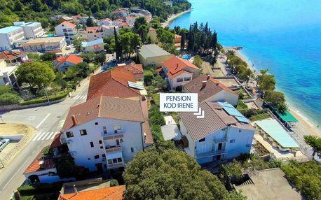 8–10denní Chorvatsko, Gradac | Pension Kod Irene*** 10 m od pláže | Dítě zdarma | Polopenze, autobusem nebo vlastní doprava