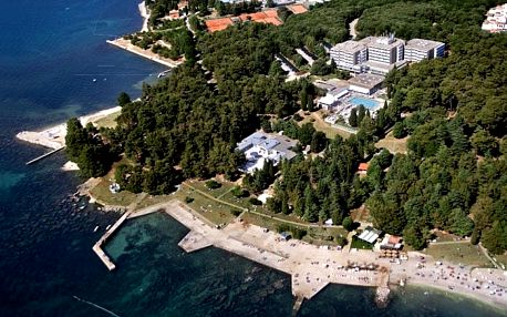 Chorvatsko - Poreč na 10 až 17 dní, polopenze s dopravou autobusem 150 m od pláže