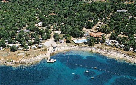Chorvatsko - Poreč na 8 až 10 dní, bez stravy nebo polopenze s nápoji s dopravou autobusem nebo vlastní 50 m od pláže
