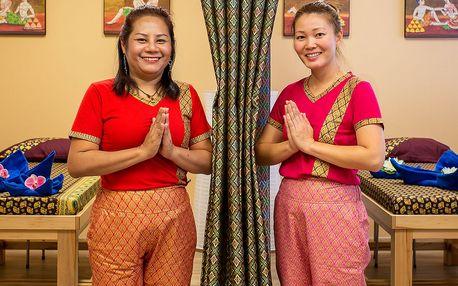 Olejové thajské masáže: 60 minut úžasné relaxace