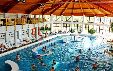 Park Inn Zalakaros Resort Spa **** v termálních lázních s polopenzí