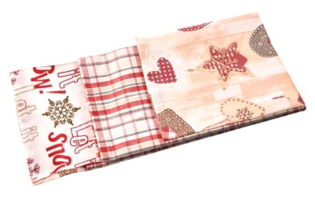 Utěrka kuchyňská bavlna Heart 3 ks