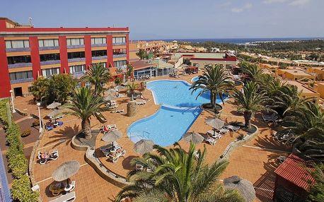 Kanárské ostrovy - Fuerteventura na 8 až 15 dní, polopenze, snídaně nebo bez stravy s dopravou letecky z Vídně 1000 m od pláže