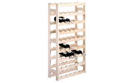 Dřevěný stojan na víno, 54 lahví, ZELLER