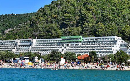 Chorvatsko - Rabac na 10 až 17 dní, plná penze nebo polopenze s dopravou autobusem 50 m od pláže