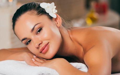 Luxusní balíček: 80 minut relaxace s masáží