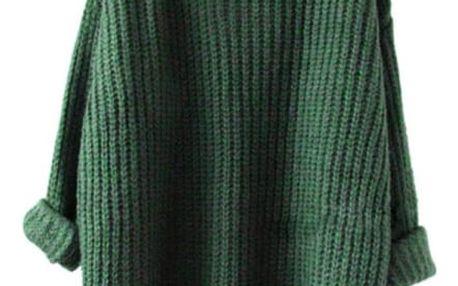 Pletený oversize svetr - 5 barev