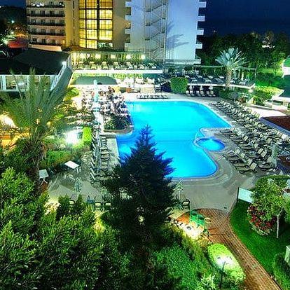 Turecko - Alanya na 8 dní, all inclusive s dopravou letecky z Prahy 150 m od pláže