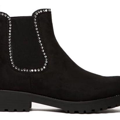Dámské černé kotníkové boty Kaylin 100