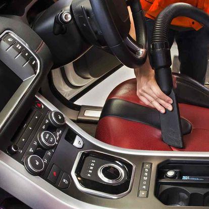 Ruční profi mytí interiéru vozidla vč. tepování