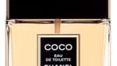 Chanel Coco 50 ml toaletní voda poškozená krabička pro ženy