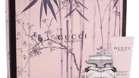 Gucci Gucci Bamboo dárková kazeta pro ženy parfémovaná voda 30 ml + tělové mléko 50 ml