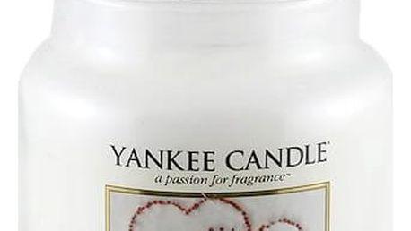 Yankee Candle Svíčka Yankee Candle 411gr - Snow In Love, bílá barva, sklo