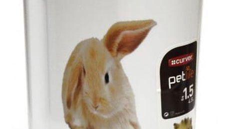 CURVER 32439 Dóza na krmivo 1,5 kg - králíček