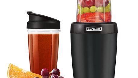 Sencor SNB 4301RD nutri mixér, černá