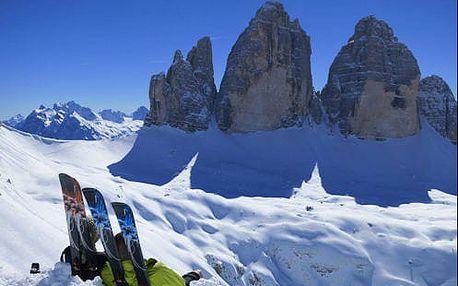 Výborný alpský pobyt na severu Itálie pro dva s polopenzí a wellness