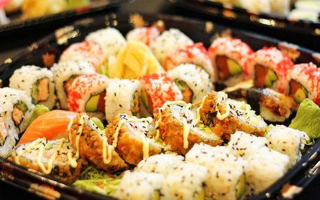 Sushi sety s tuňákem i olihní: 13, 32 i 43 kusů