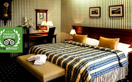 Golf Hotel Morris**** v Mariánských lázních s polopenzí a procedurami