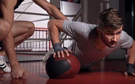 Osobní trénink s profesionálem v novém fitness