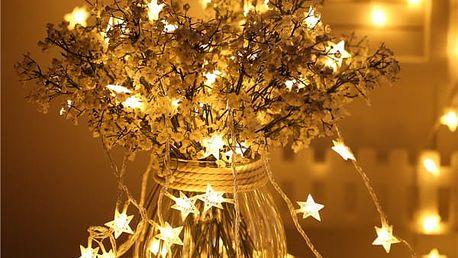 Vánoční LED světýlka - 6 barev