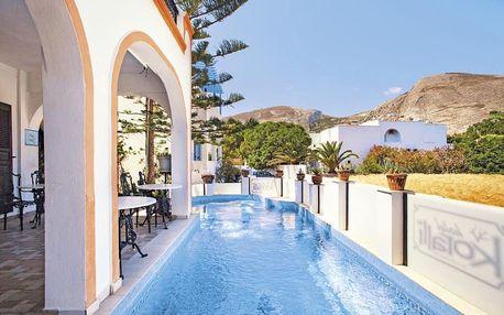 Řecko, Santorini, letecky na 8 dní snídaně