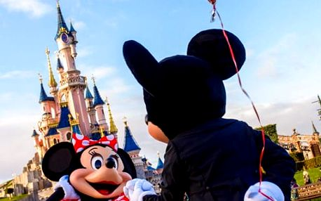 Valentýn: Paříž s návštěvou Disneylandu s ubytováním a snídaní