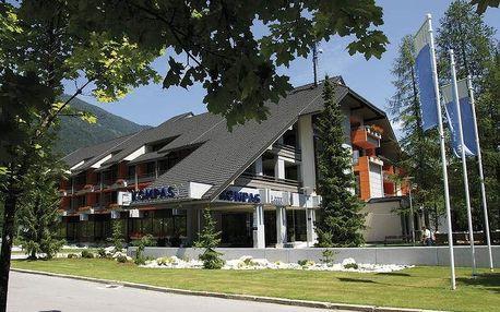 Slovinsko - Kranjska Gora na 7 až 8 dní, polopenze s dopravou vlastní