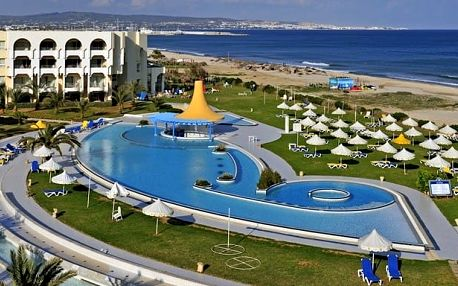 Tunisko - Yasmine Hammamet na 8 až 15 dní, all inclusive s dopravou letecky z Prahy přímo na pláži