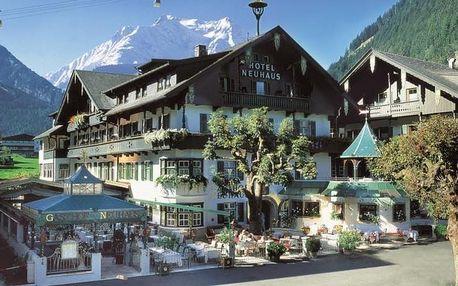 Rakousko - Tyrol na 8 dní, polopenze s dopravou vlastní