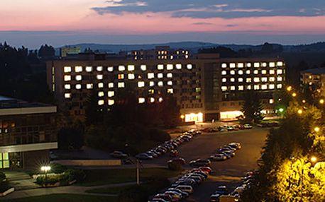 Pobyt na Silvestra na Vysočině v hotelu Jehla*** na 5 dní pro 1 osobu, silvestrovský ohňostroj.