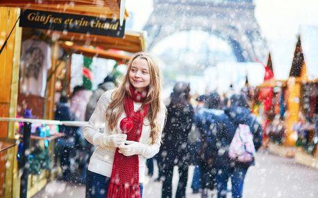 4denní Paříž v době adventu s ubytováním a snídaní