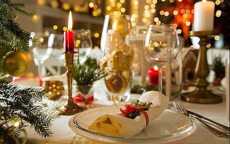 Královský vánoční pobyt v lázních Turč. Teplice v 5* hotelu s polopenzí a procedurami