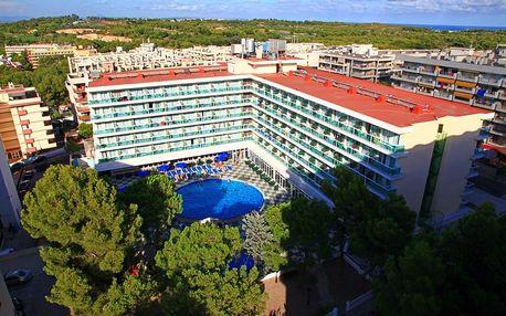 Španělsko - Costa Dorada na 8 dní, polopenze, snídaně nebo bez stravy s dopravou letecky z Prahy 300 m od pláže