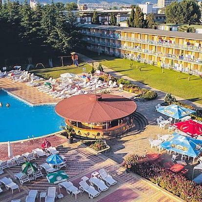 Bulharsko, Slunečné pobřeží, letecky na 8 dní